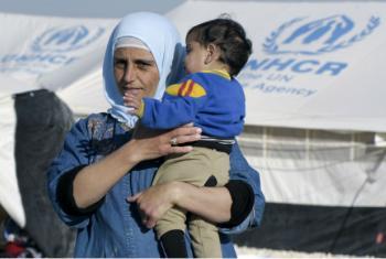Refugiados que tentam chegar à Europa. Foto: ONU/Mark Garten