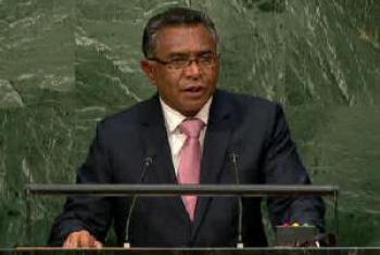Rui Maria de Araújo. Imagem: TV ONU