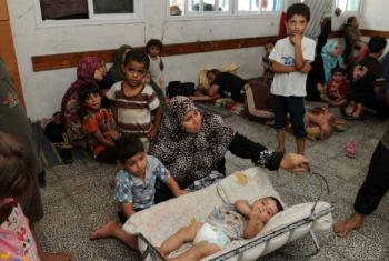 Milhares de refugiados dependem de assistência da agência da ONU. Foto: Unrwa/Shareef Sarhan