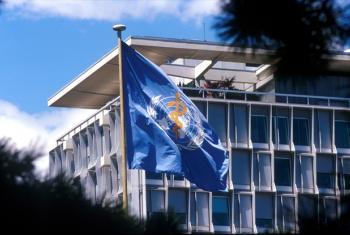 Sede da Organização Mundial da Saúde, Genebra. Foto: OMS/P. Virot