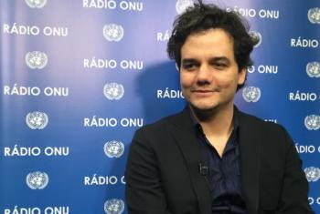 Em agosto, Wagner Moura foi nomeado embaixador da OIT contra a escravidão moderna. Foto: Rádio ONU