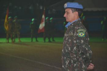 General Ajax Porto Pinheiro. Foto: Minustah/Batalhão Brabat 22