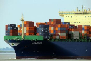 Descida de exportações para economias emergentes, em particular a China, está entre as causas da queda. Imagem: DR.