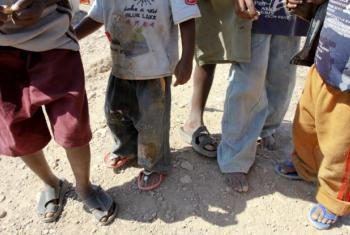 Crianças no Iémen. Foto: ONU/Philip Behan