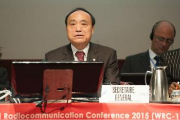 Diretor do Departamento de Radiocomunicação da UIT, François Rancy,Foto: ITU/D. Woldu