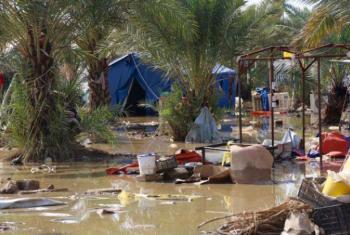 Cheias em Bagdá, Iraque. Foto: Ocha/Themba Linden
