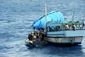 Golfo da Guiné teve 40% dos casos de pirataria e de assaltos à mão armada no mar ocorridos em todo o mundo. Foto: Marinha EUA/Ja'lon A. Rhinehart