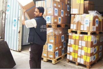 Agências querem sistemas de saúde resilientes e integração da gestão de risco de desastres. Foto: OMS/Sadeq Al-Wesabi