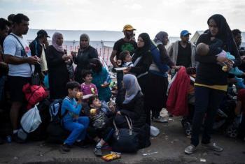 Mais de 155 mil refugiados e migrantes sírios foram transferidos para 30 países em programas de realojamento.Foto: Acnur/Olivier Laban Mattei