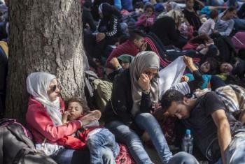 Refugiados sírios. Foto: Acnur/I. Pavicevic