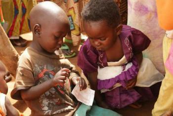 Crianças refugiadas burundesas. Foto: Unicef/ Pflanz
