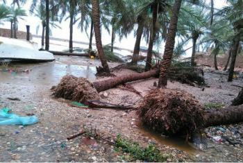 Na semana passada, o país já tinha sido atingido pelo ciclone Chapala.Foto: Unicef Yemen/Ahmed Tani