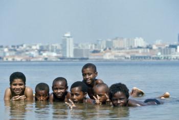 A capital angolana terá 12,9 milhões de habitantes em 2030.Foto: ONU/Jean Pierre Laffont
