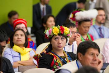 Proteção de povos indígenas. Foto: ONU/Eskinder Debebe