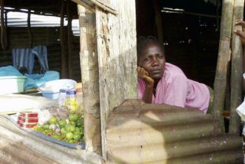 Metade dos beneficiários são dosexo feminino e em situação vulnerável.Foto: ONU/Shima Roy