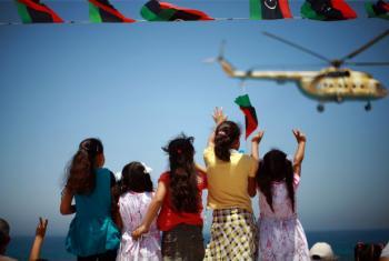 Este 17 de fevereiro marca os cinco anos do início da revolução na Líbia.Foto: Iason Athanasiadis/Unsmil