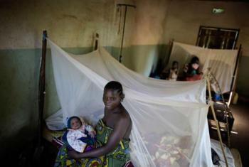 Combate à malária em São Tomé e Príncipe. Foto: Unicef/Jan Grarup