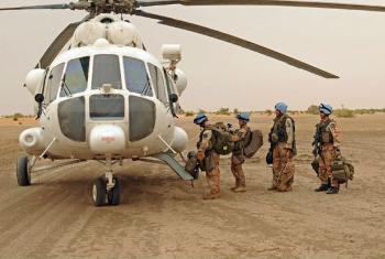 Soldados da paz das Nações Unidas no Mali. Foto: Minusma
