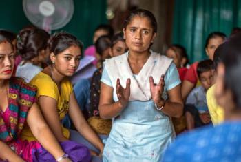 Dia Internacional para Eliminação da Violência a Mulheres. Foto: ONU Mulheres/Samir Jung Thapa
