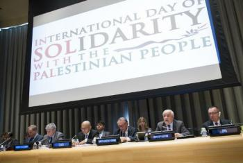 Dia Internacional de Solidariedade ao Povo Palestino. Foto: ONU/Rick Bajornas