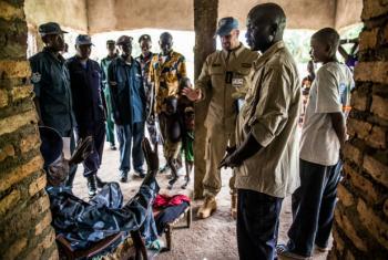 Polícia da ONU no Sudão do Sul. Foto: ONU/JC McIlwaine