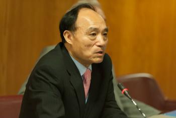 Secretário-geral da União Internacional de Telecomunicações, UIT, Houlin Zhao.Foto: UIT/D. Woldu