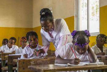 O seminário sobre educação em emergências terá lugar em Luanda. Foto: Unicef Angola