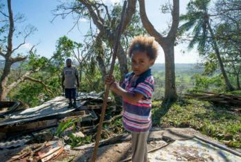As crianças são as que vão sofrer o maior peso da mudança climática.Foto: Unicef