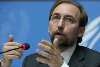 Alto comissário para os Direitos Humanos, Zeid Al Hussein. Foto: ONU/Jean-Marc Ferré