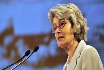 Irina Bokova. Foto: UNESCO
