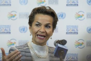 Christiana Figueres. Foto: ONU/Devra Berkowitz