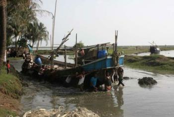 Desde 2014, cerca de 95 mil pessoas fizeram a perigosa travessia na Baía de Bengala e no mar de Andamão.Foto: Acnur/V. Tan
