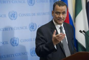 Ismail Ould Cheikh Ahmed. Foto: ONU/Amanda Voisard
