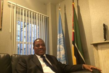 Gumende disse que Moçambique é parte dis seis representantes africanos que ocupam atualmente a vice-presidência da Assembleia Geral.