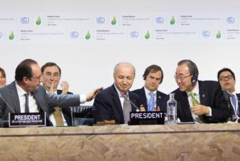Ban Ki-moon disse haver sólidos resultados em todos os pontos essenciais do acordo. Foto: Unfccc.
