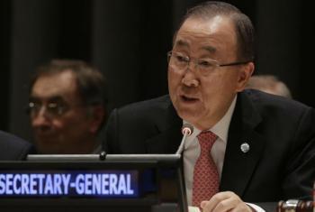 Ban Ki-moon. Foto: ONU/Evan Schneider