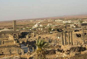 Unesco condenou a destruição de parte da cidade histórica de Bosra, na Síria. Foto: ©UNESCO/Véronique Dauge
