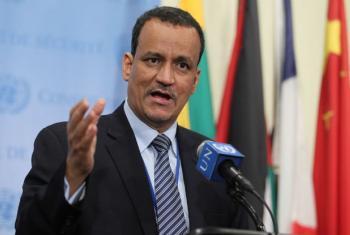 O enviado especial da ONU para o Iêmen, Ismail Ould Cheikh Ahmed. Foto: ONU/Devra Berkowitz.