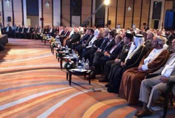 Fórum Ministerial Árabe para o Desenvolvimento Habitacional e Urbano teve a participação de 15 representantes de ministérios. Foto: ONU-Habitat.