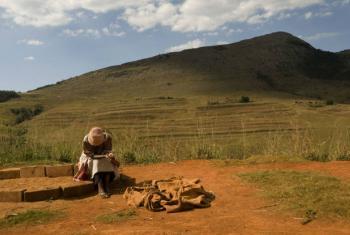 Agricultor na Suazilândia. Foto: FAO