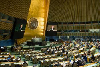 Assembleia Geral das Nações Unidas. Foto: ONU/Rick Bajornas