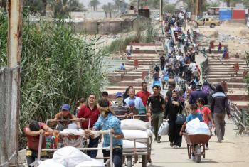 O Acnur alertou que 4,2 mil iraquianos fugiram para a Síria.Foto: Unicef/ Wathiq Khuzaie