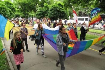 Parada do orgulho LGBTI. Foto: OHCHR/Joseph Smida