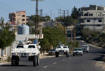Tropas de paz da Missão da Força Interina da ONU no Líbano. Foto: Unifil