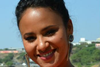 Mayra Andrade. Foto: ONU Cabo Verde