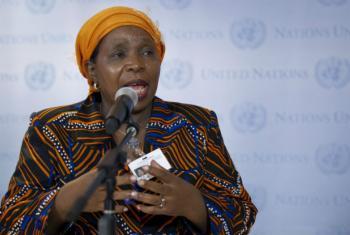 Nkosazana Dlamini-Zuma.Foto: ONU/Rick Bajornas