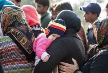 A OIM continua ajudando na realocação dos refugiados e migrantes.Foto: OIM