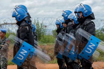 Soldados da paz em Juba, no Sudão do Sul. Foto: ONU/JC McIlwaine