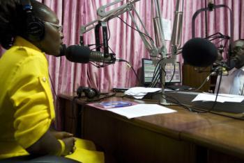 A liberalização de setor audiovisual no principio de 2010 permitiu a abertura de mais estações de rádio e TV.Foto: Banco Mundial