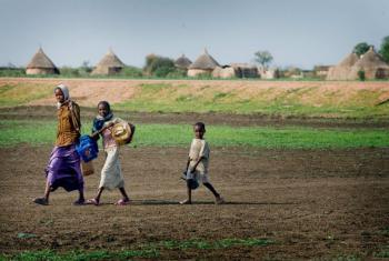 A iniciativa pretende ajudar as comunidades sudanesas na adaptação às mudanças climáticas. Foto: Unicef/Kate Holt